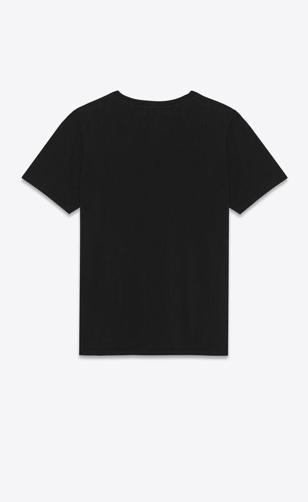 黑色短袖圣罗兰 t恤