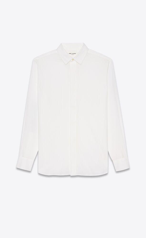 条纹棉质衬衫