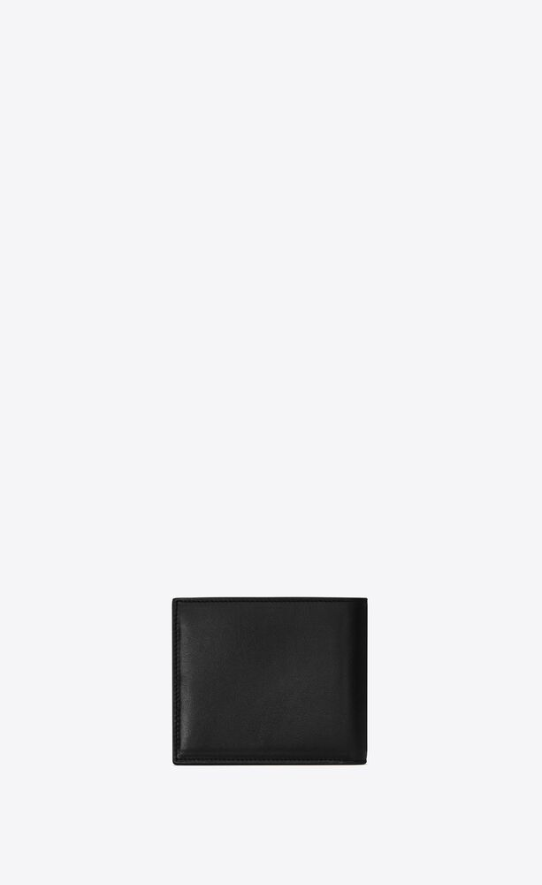 Tiny Monogram亮面皮革横款钱包