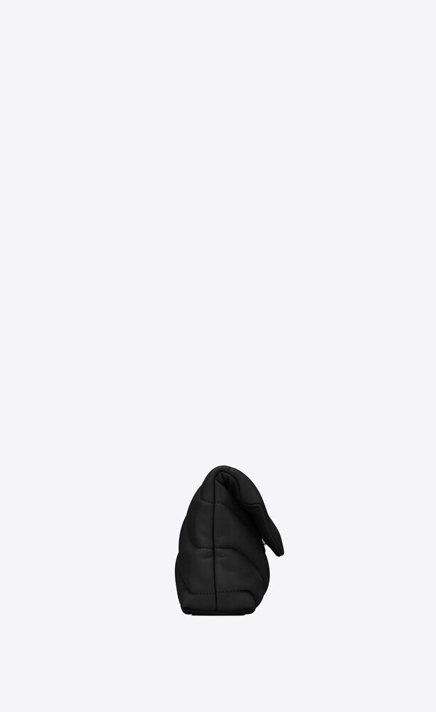 PUFFER小号绗缝小羊皮手拿包