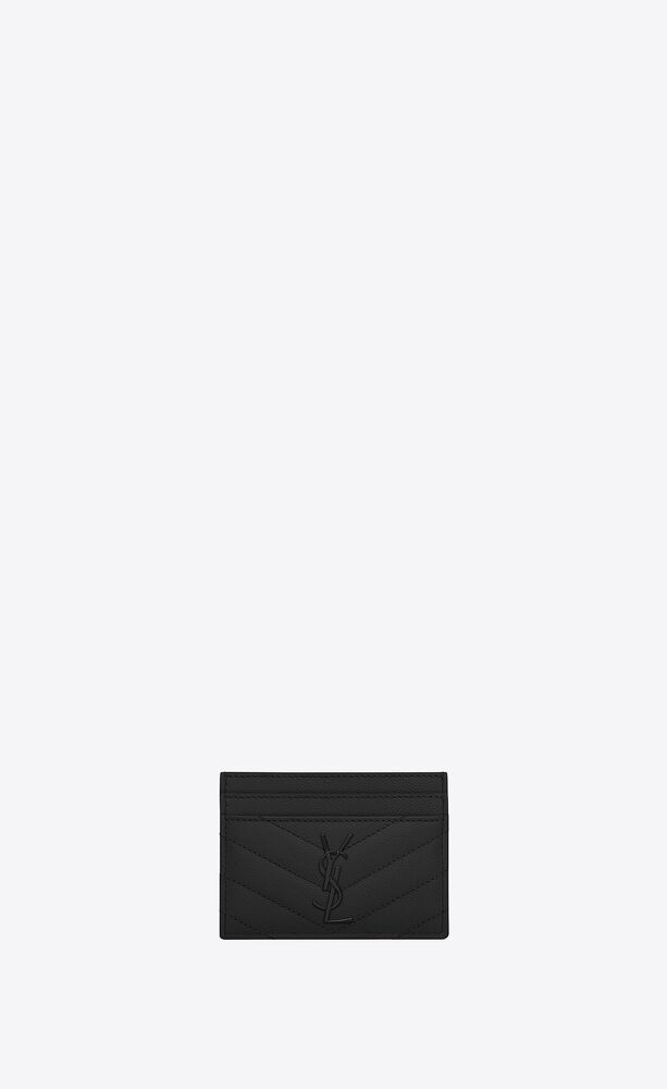 monogram图案型圣罗兰信用卡包
