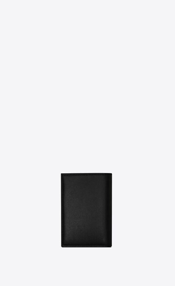 Tiny Monogram亮面皮革信用卡包