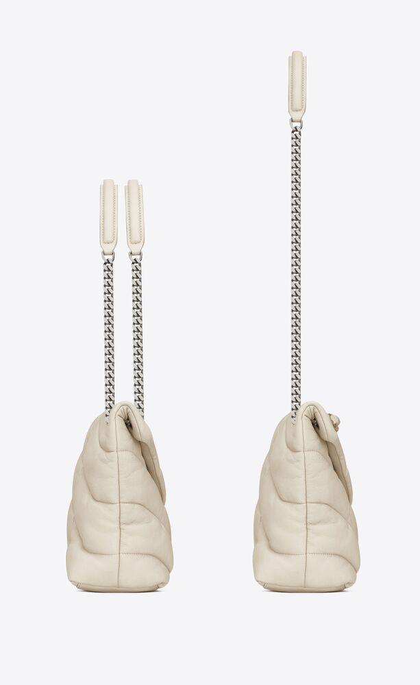 PUFFER 中号绗缝小羊皮包
