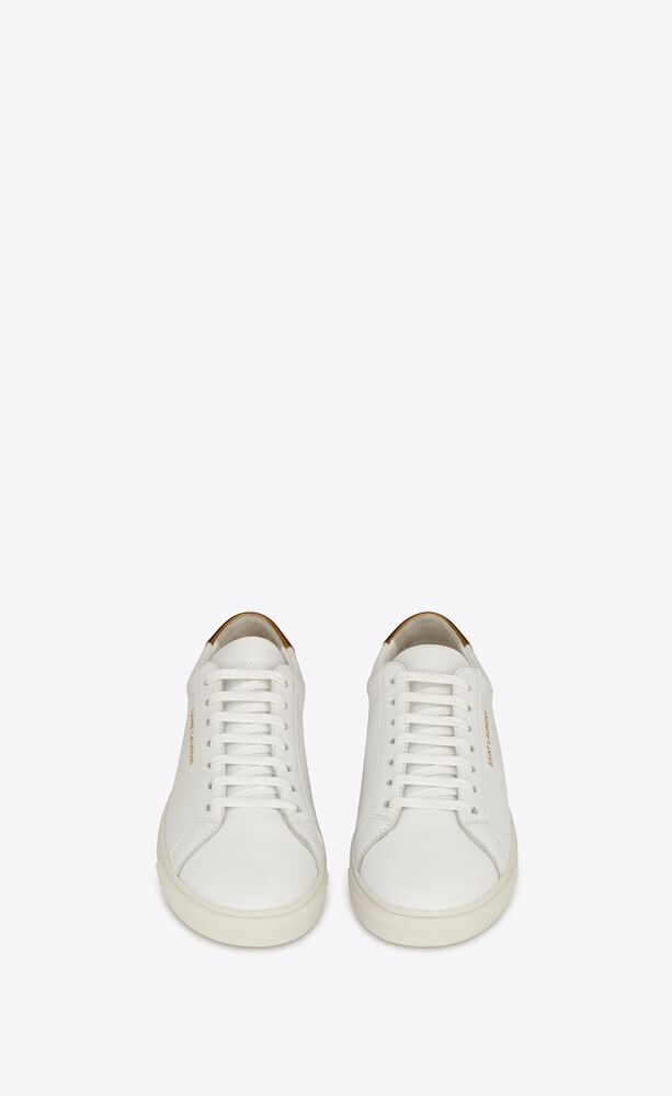 ANDY光滑皮革运动鞋