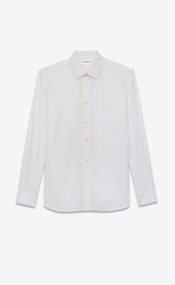 棉府绸衬衫