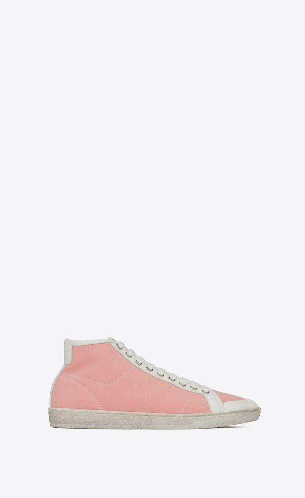 Court Classic SL/39帆布和皮革中帮运动鞋