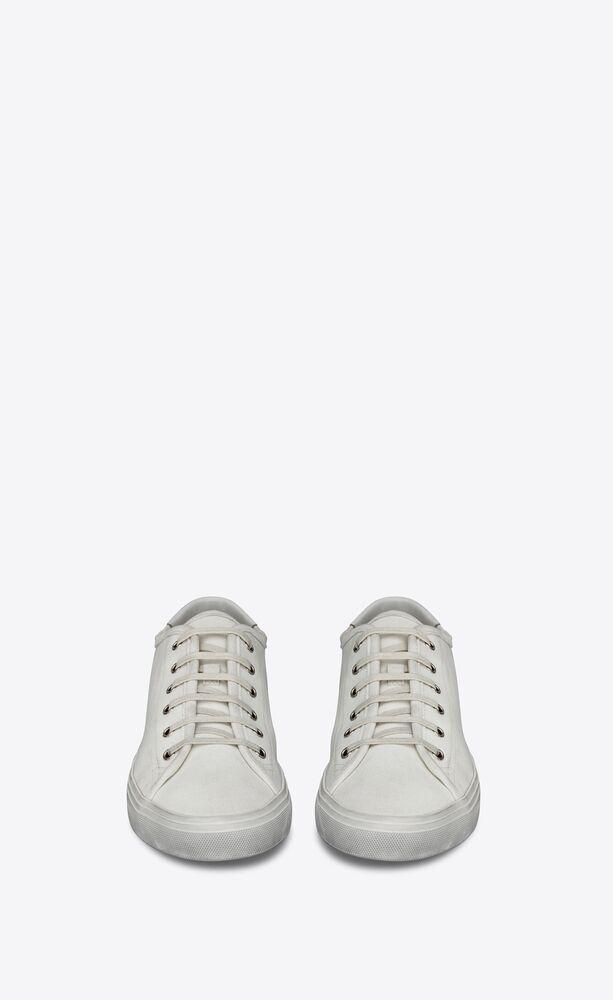 MALIBU帆布和皮革运动鞋