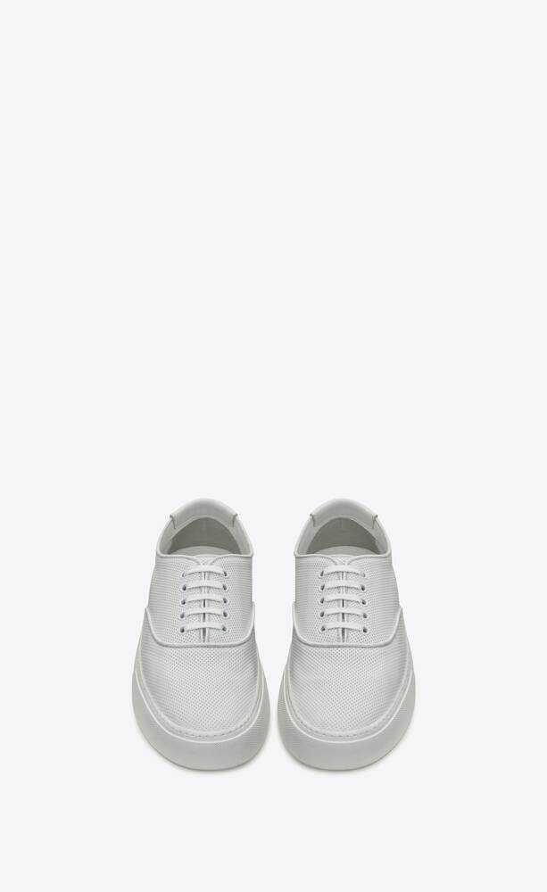 VENICE多孔皮革运动鞋