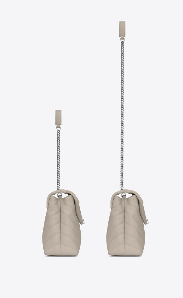 Loulou 小号Y形绗缝真皮包