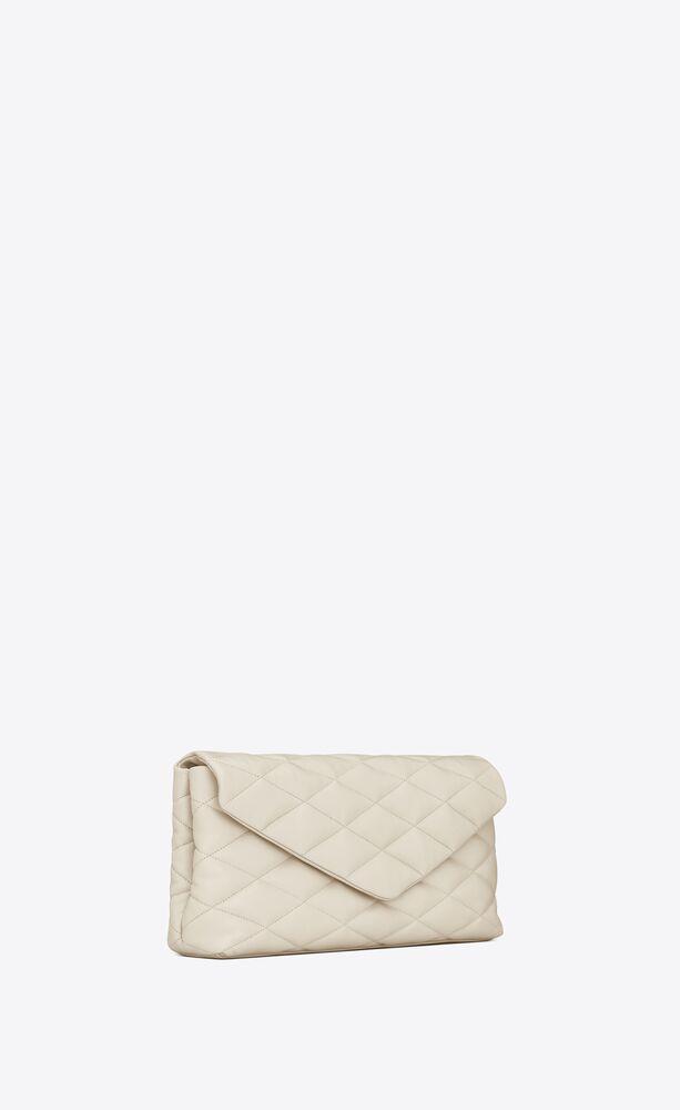 SADE小羊皮膨胀式信封手拿包
