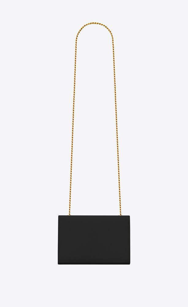 经典 monogram 小号黑色细粒纹理挎包